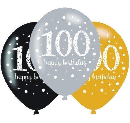 Sparkling Celebration 100 30cm Latex Balloon