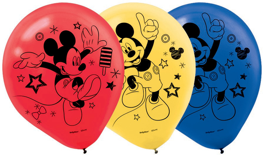 Mickey on the Go 30cm Latex Balloons