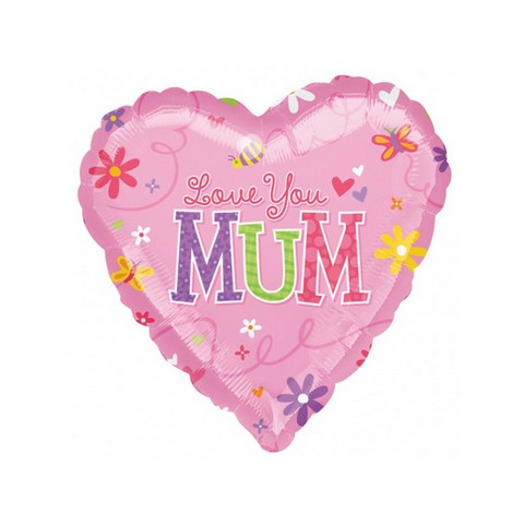 45cm Standard Love You Mum S40