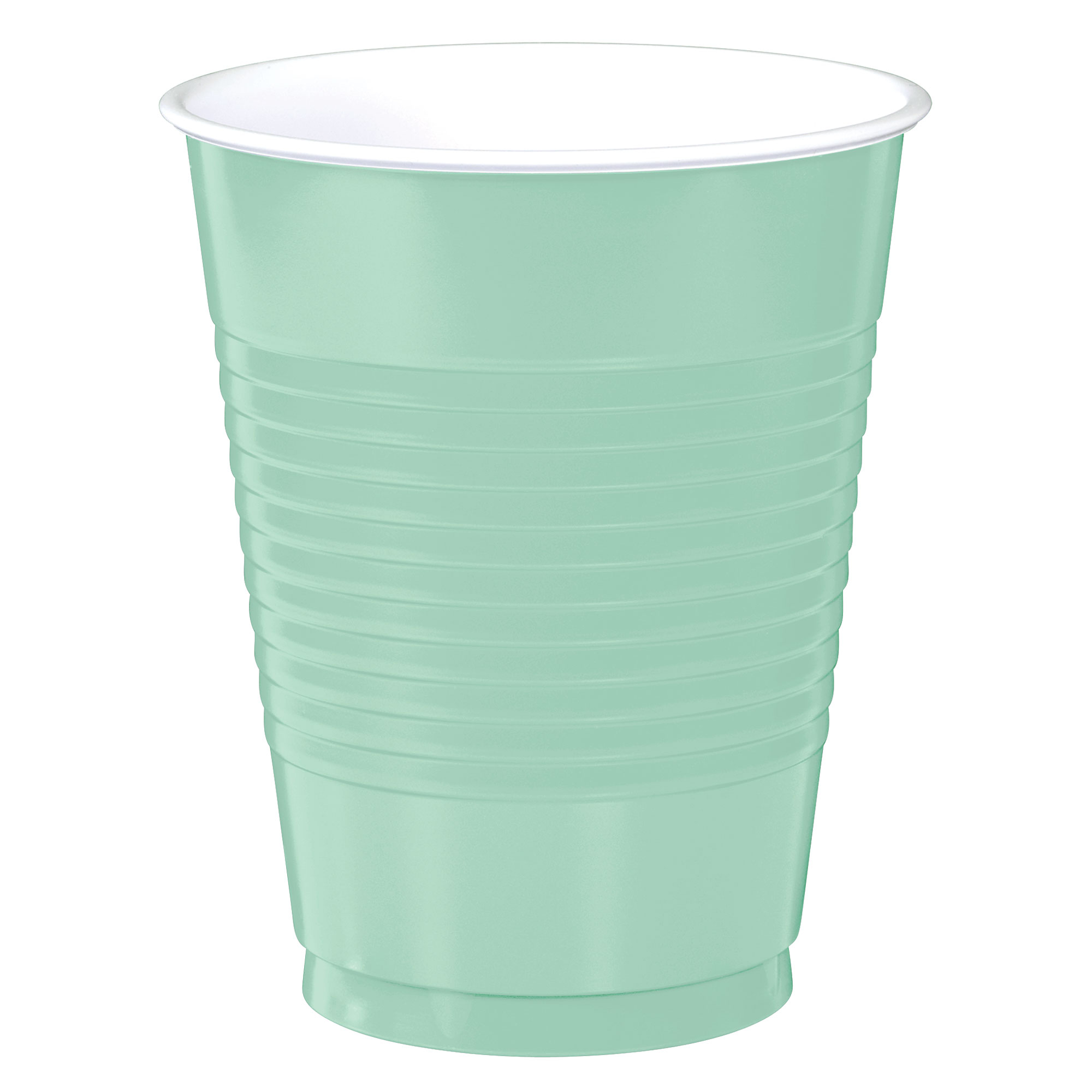 Big Party Pack 473ml Plastic Cups Cool Mint