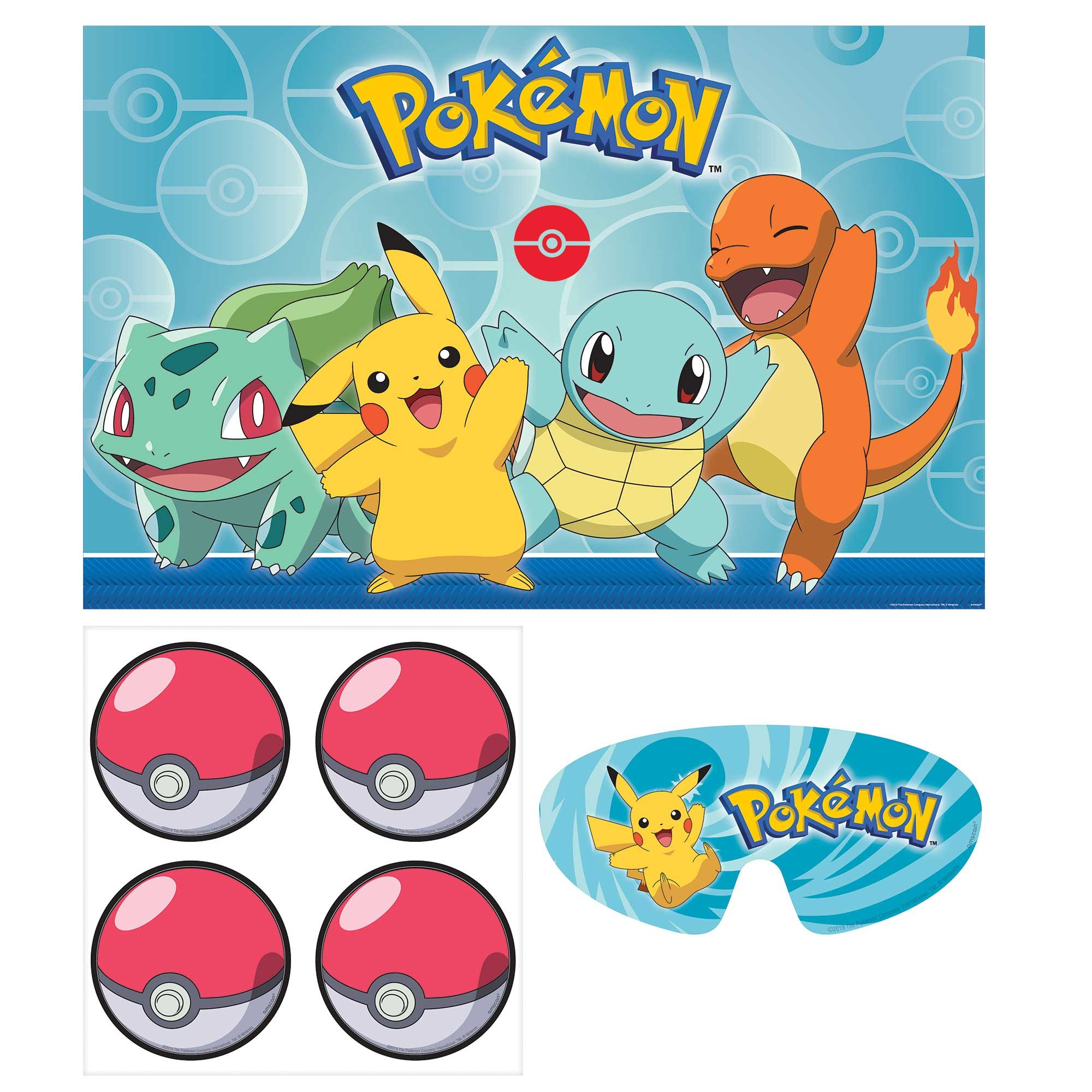 Pokemon Classic Party Game