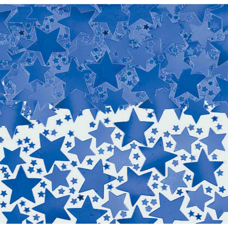 Star Confetti 70g -Blue
