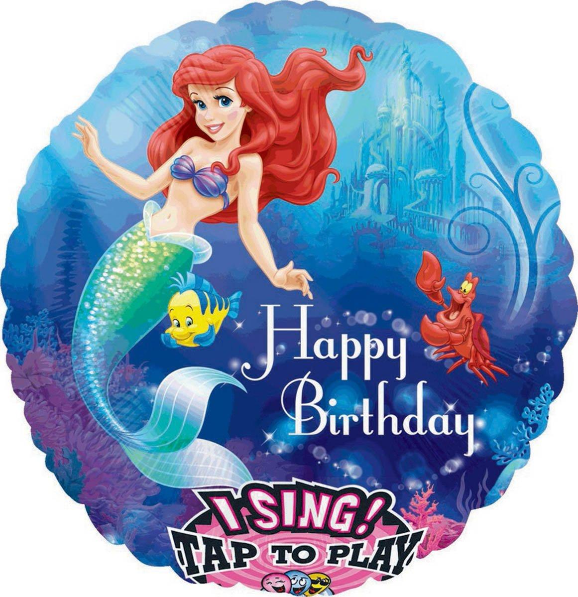 Sing-A-Tune Little Mermaid Happy Birthday P75