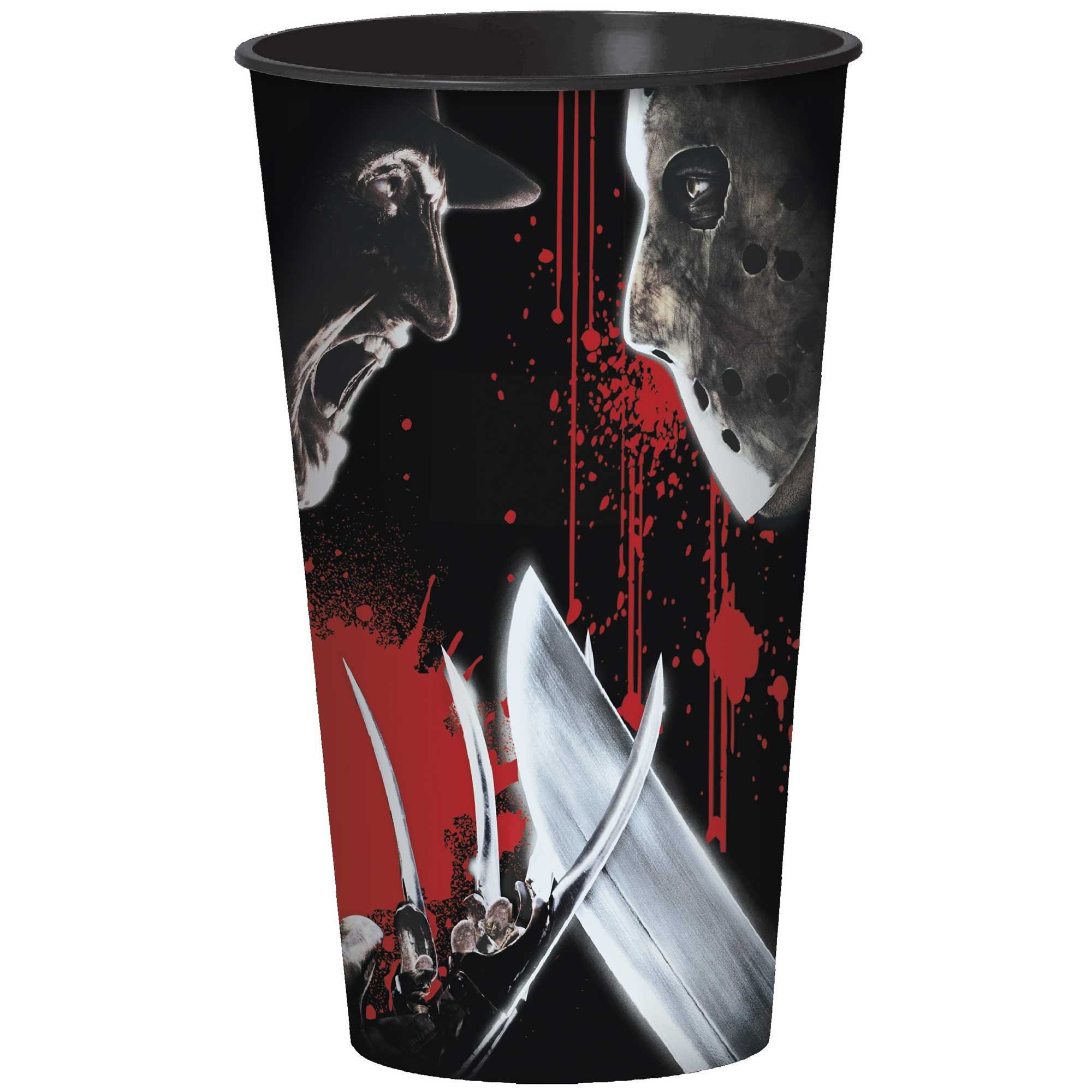 Freddy Versus Jason Plastic Cup 32oz/946ml