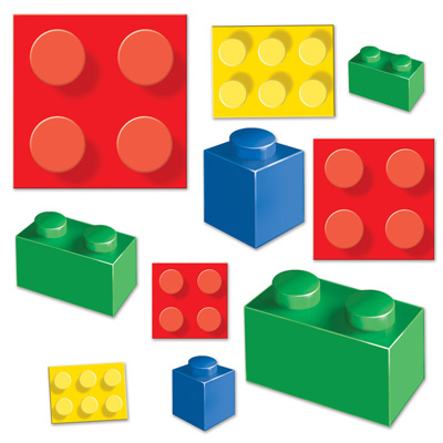 Building Blocks Cutouts