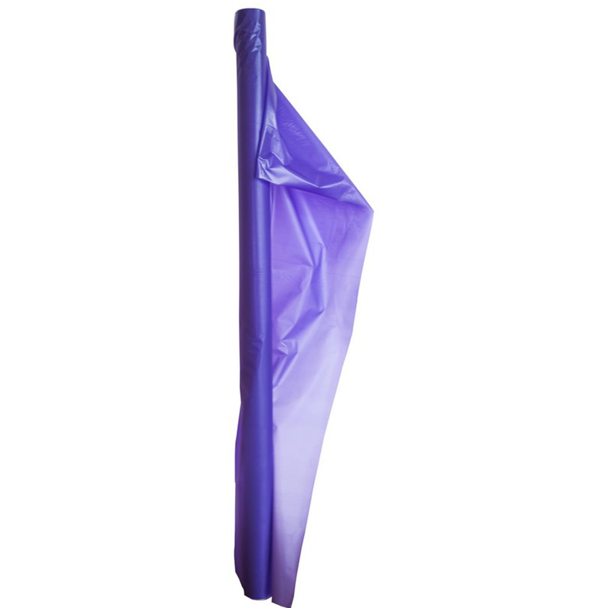 Plastic Table Roll-Purple