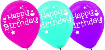 Friends Happy Birthday 30cm Latex Balloons