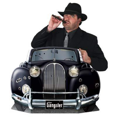 20's Gangster Car Photo Prop