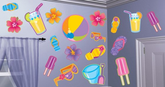 Summer Assortment Cutouts - Printed Paper