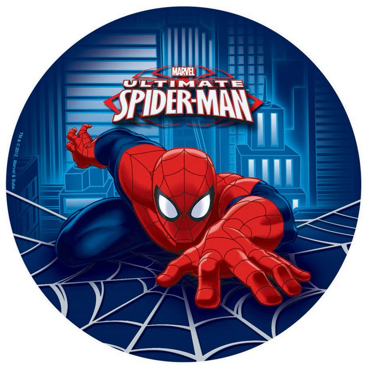 Spider-Man 23cm Round Plates