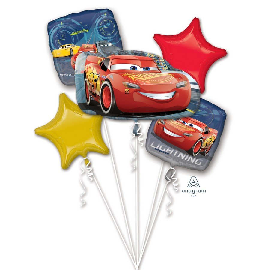 Bouquet Cars 3 Lightning McQueen P75