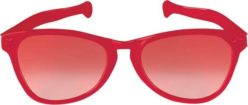 Jumbo Glasses - Red