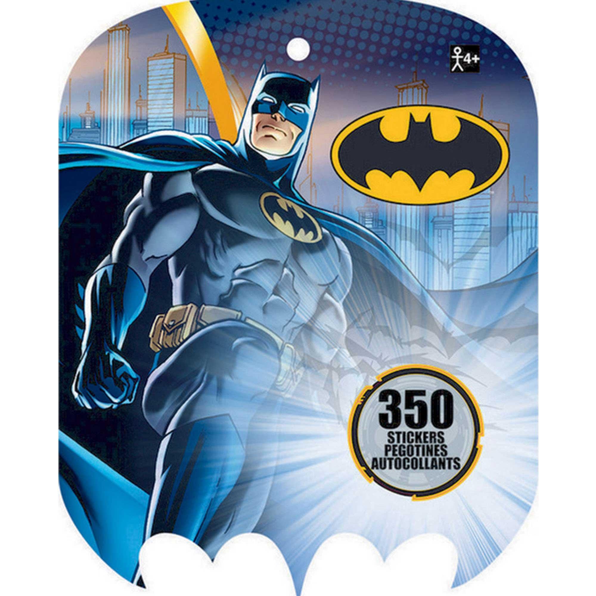 Sticker Book Batman