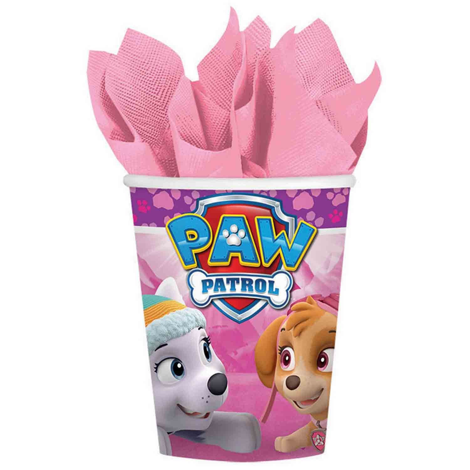 Paw Patrol Girl 266ml Cups