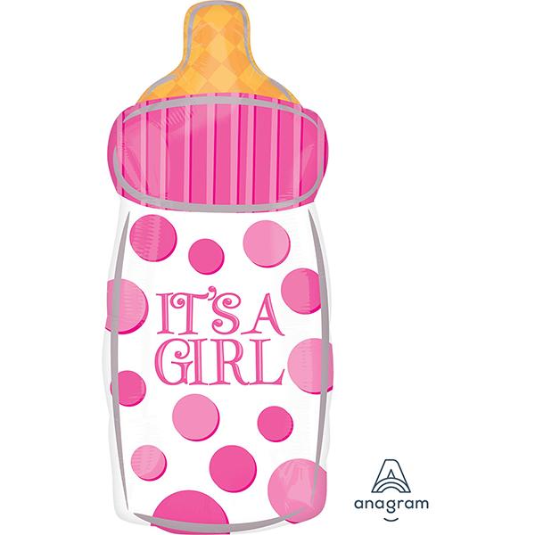 Junior Shape XL Baby Bottle IT'S A GIRL S50