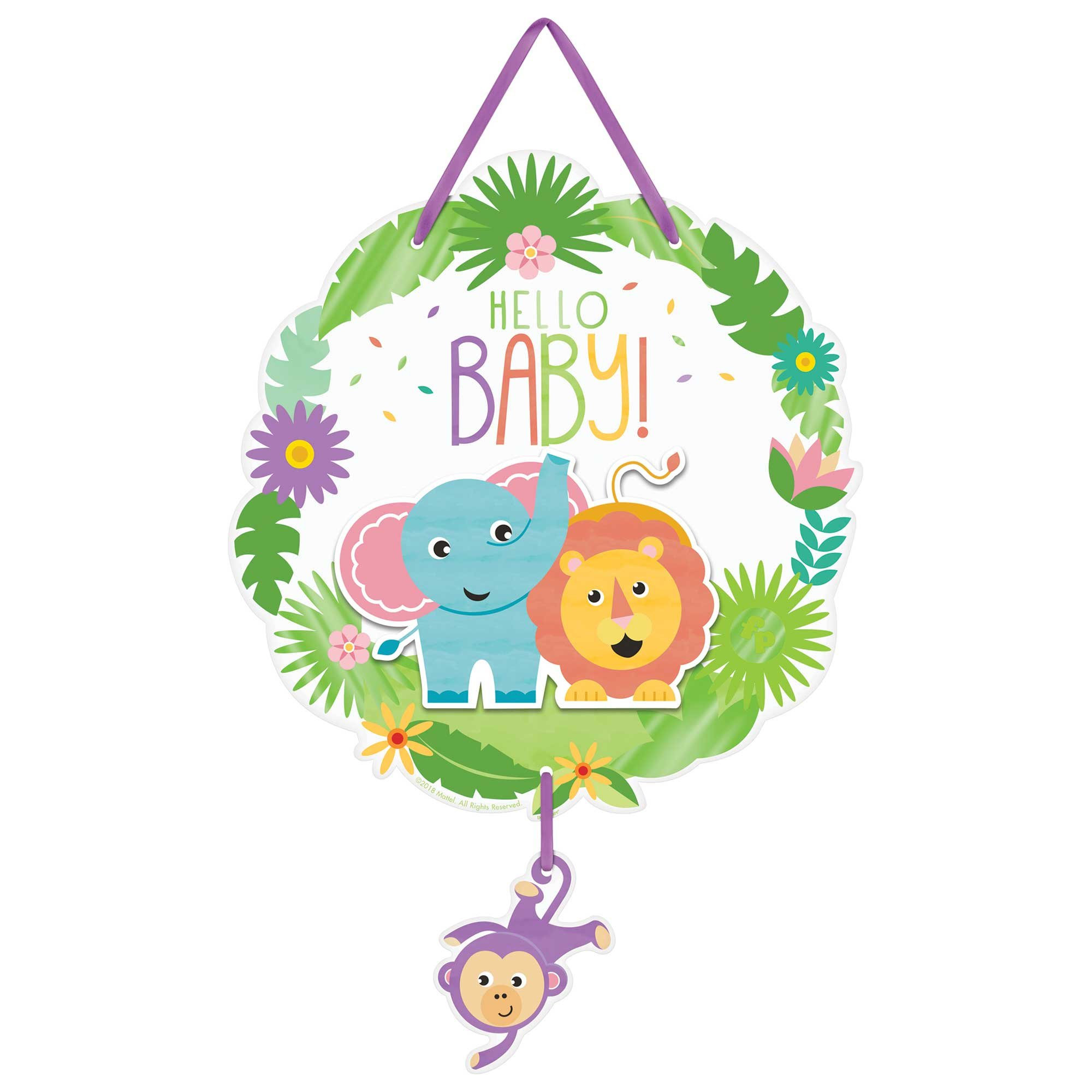 Fisher Price Hello Baby Hanging Sign