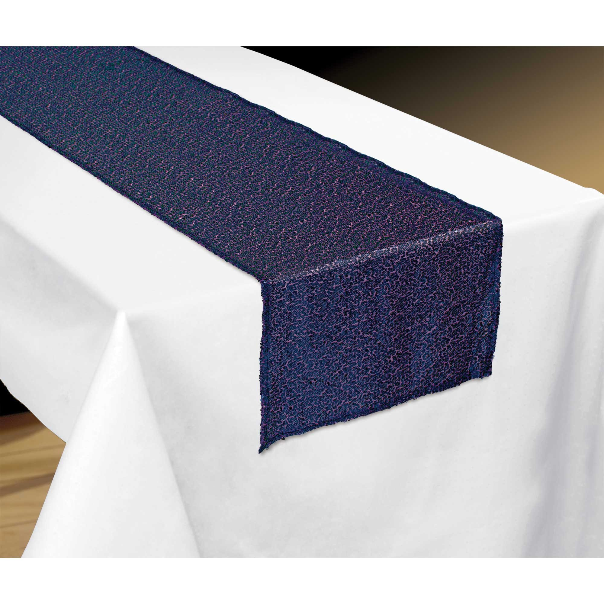 Sparkling Sapphire Table Runner Fabric