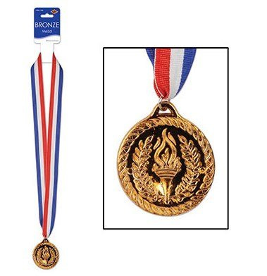 Bronze Sports Medal & Ribbon