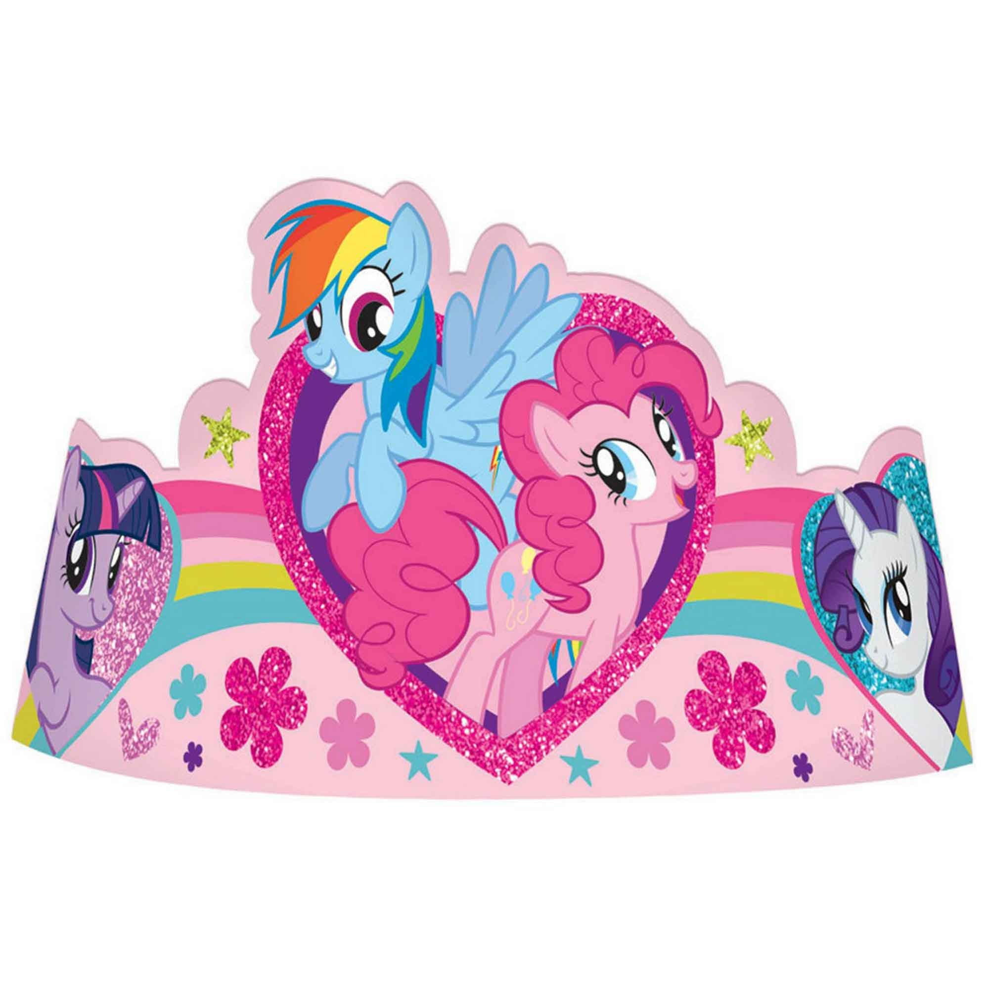 My Little Pony Friendship Paper Tiaras