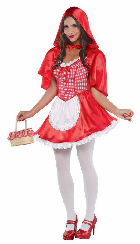 Deluxe Red Riding Hood Costume (Small)  - Adult