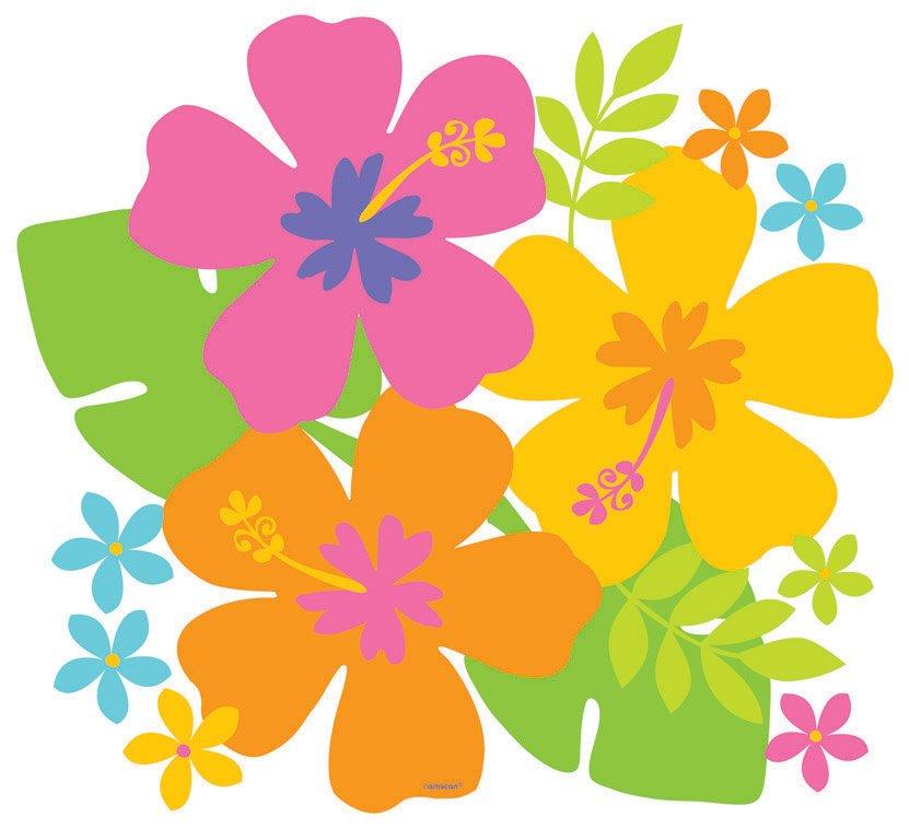 Hibiscus Cutout - Printed Paper