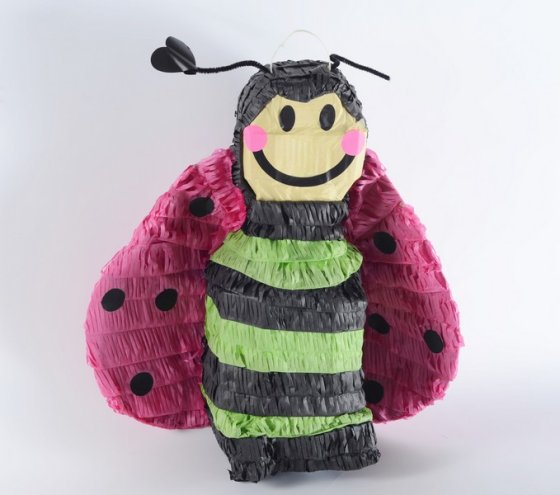 Bee 3D Shape Pinata