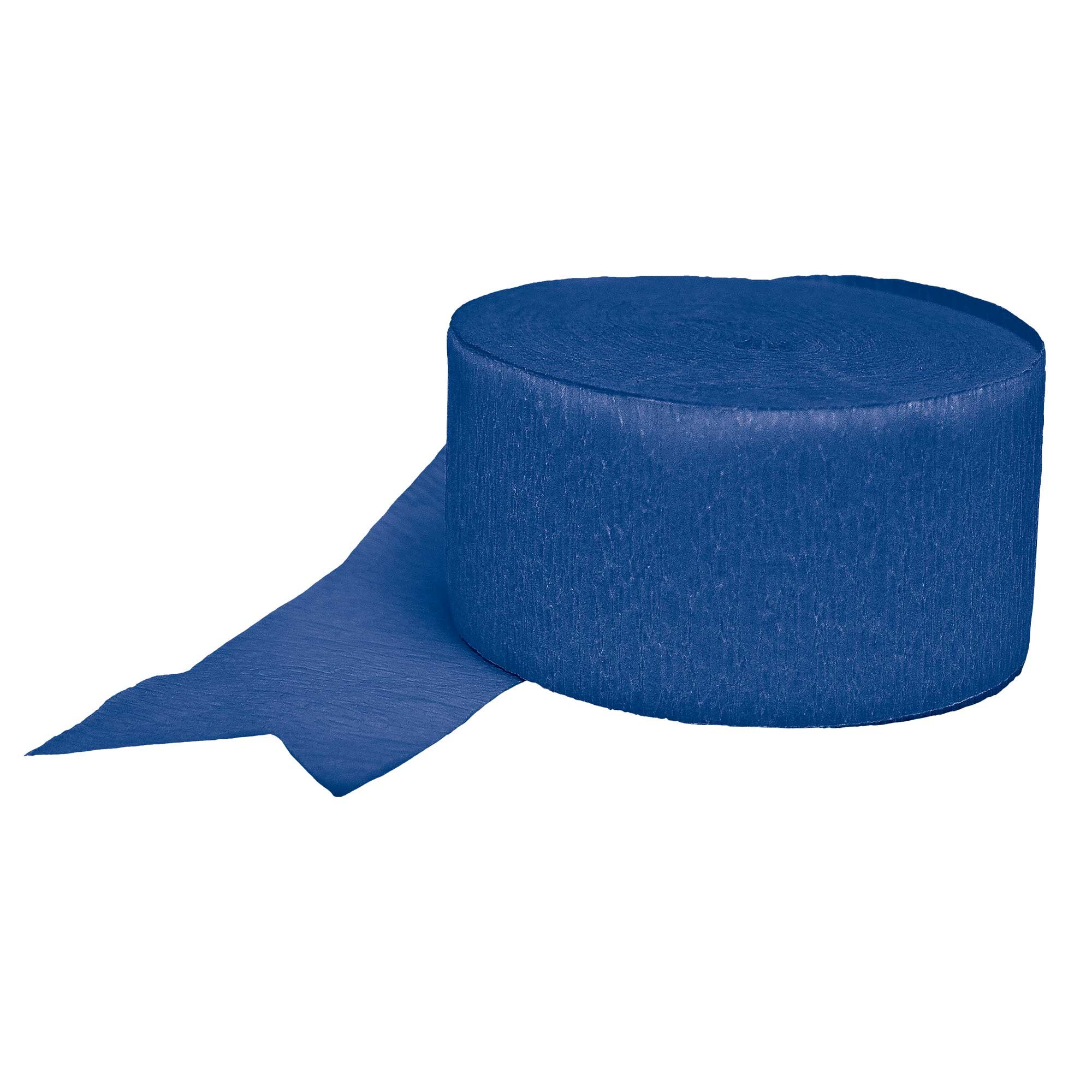 Crepe Streamers - Royal Blue