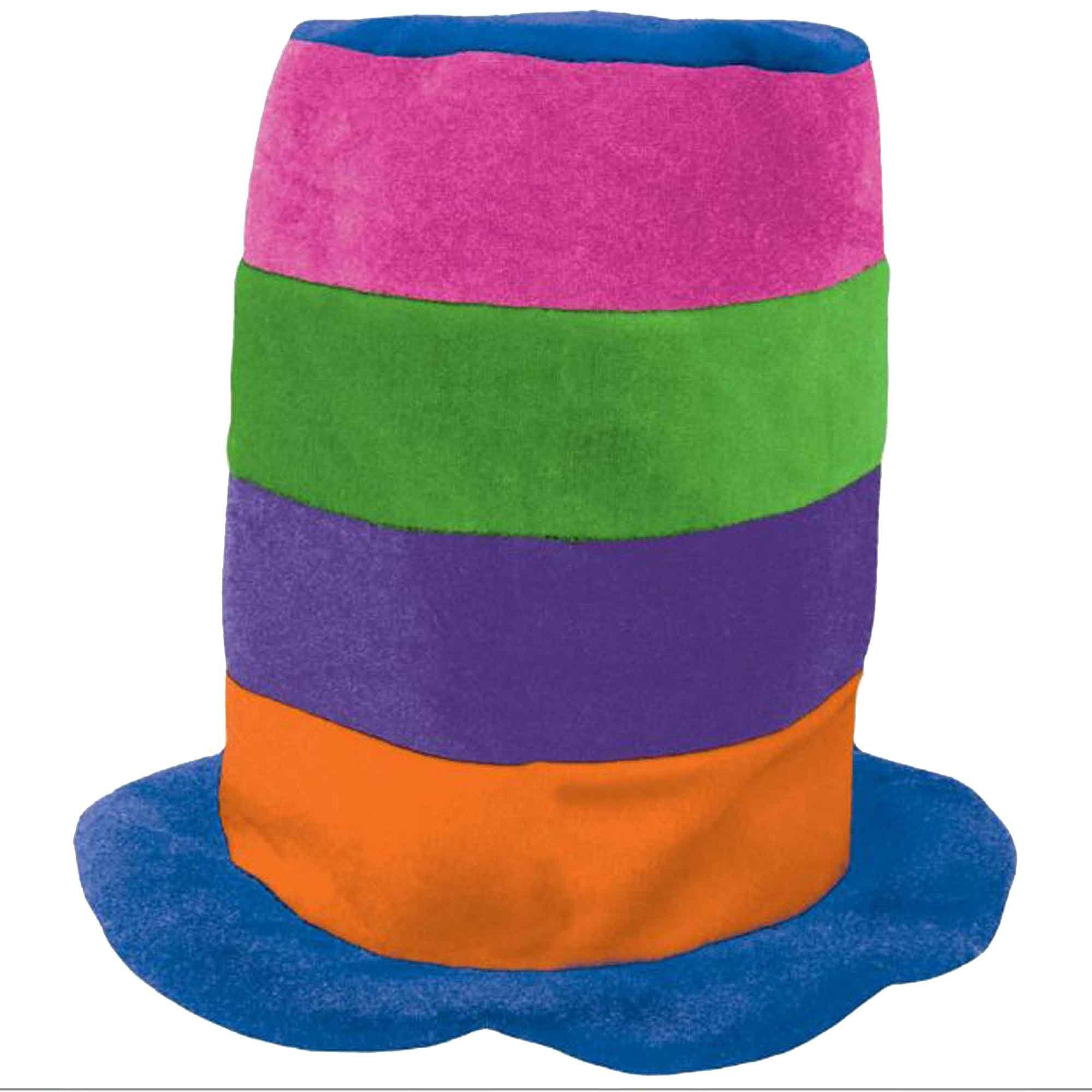 Tall Top Hat Rainbow
