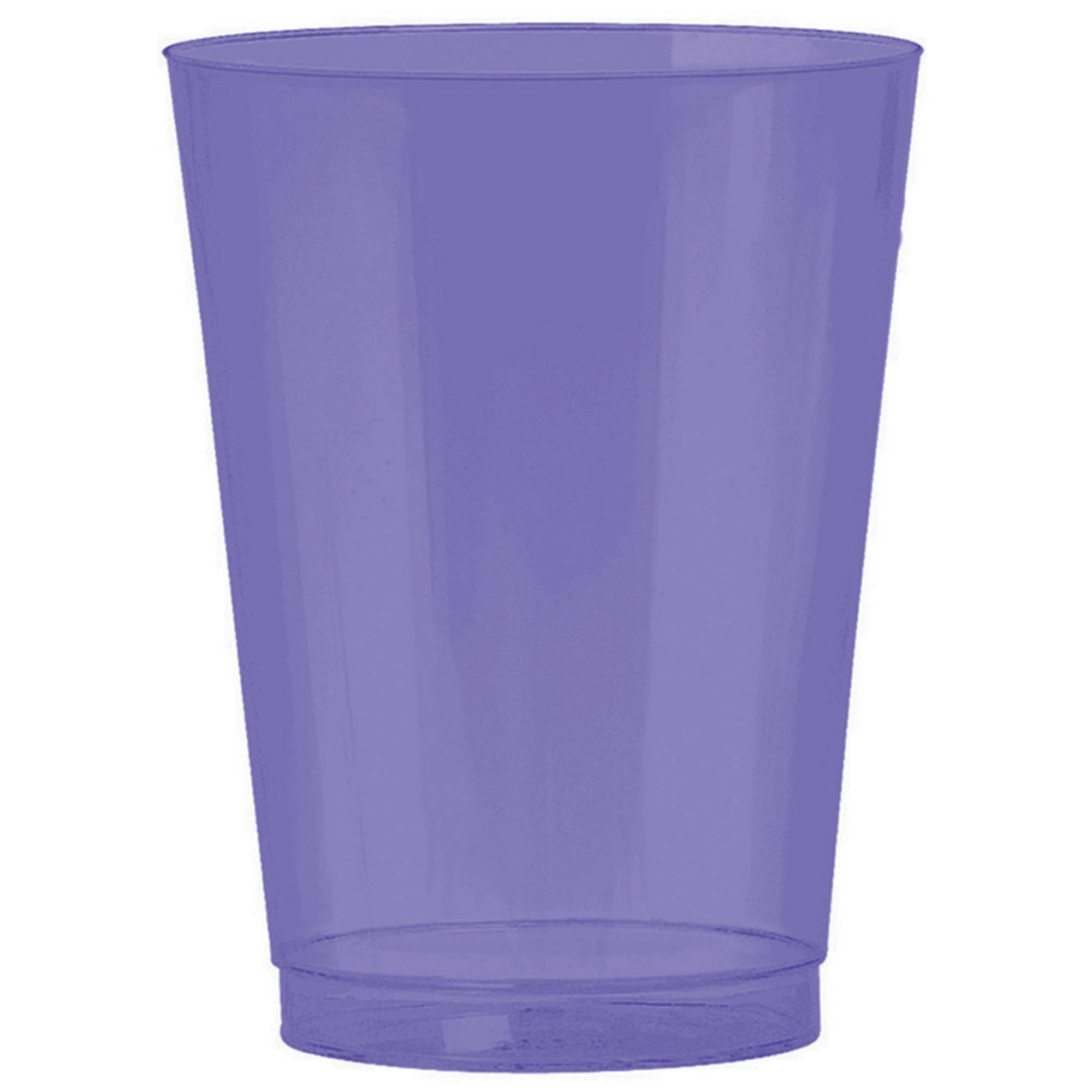 Big Party Pack 295ml Plastic Tumbler New Purple