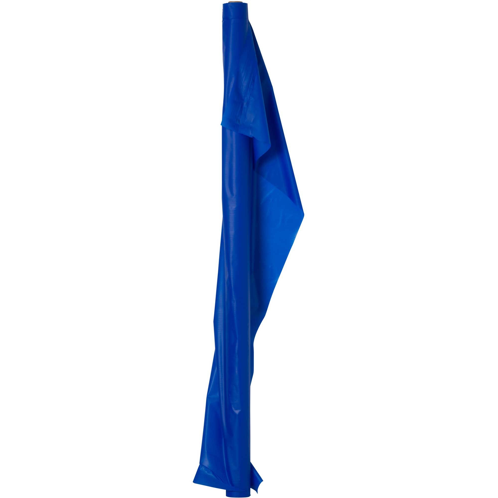 Plastic Table Roll Navy Flag Blue