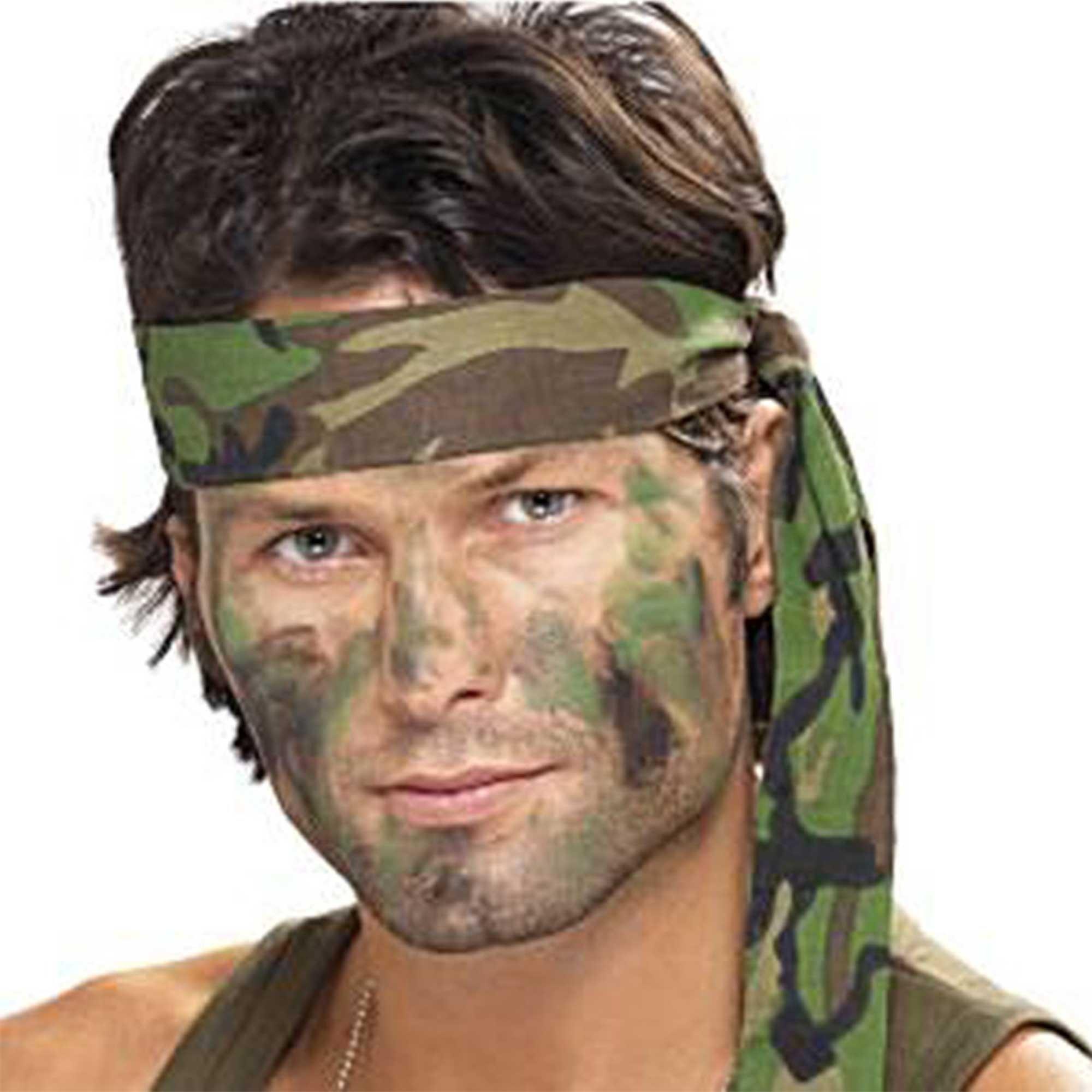Camouflage Bandana