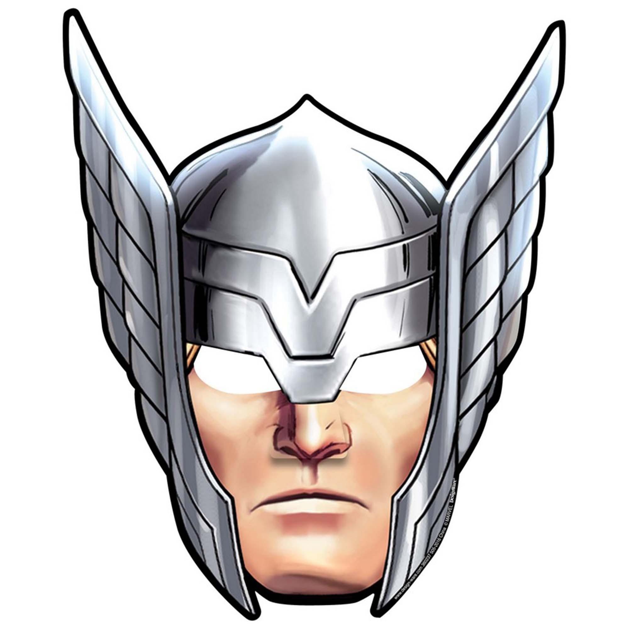 Avengers Epic Masks - Paper