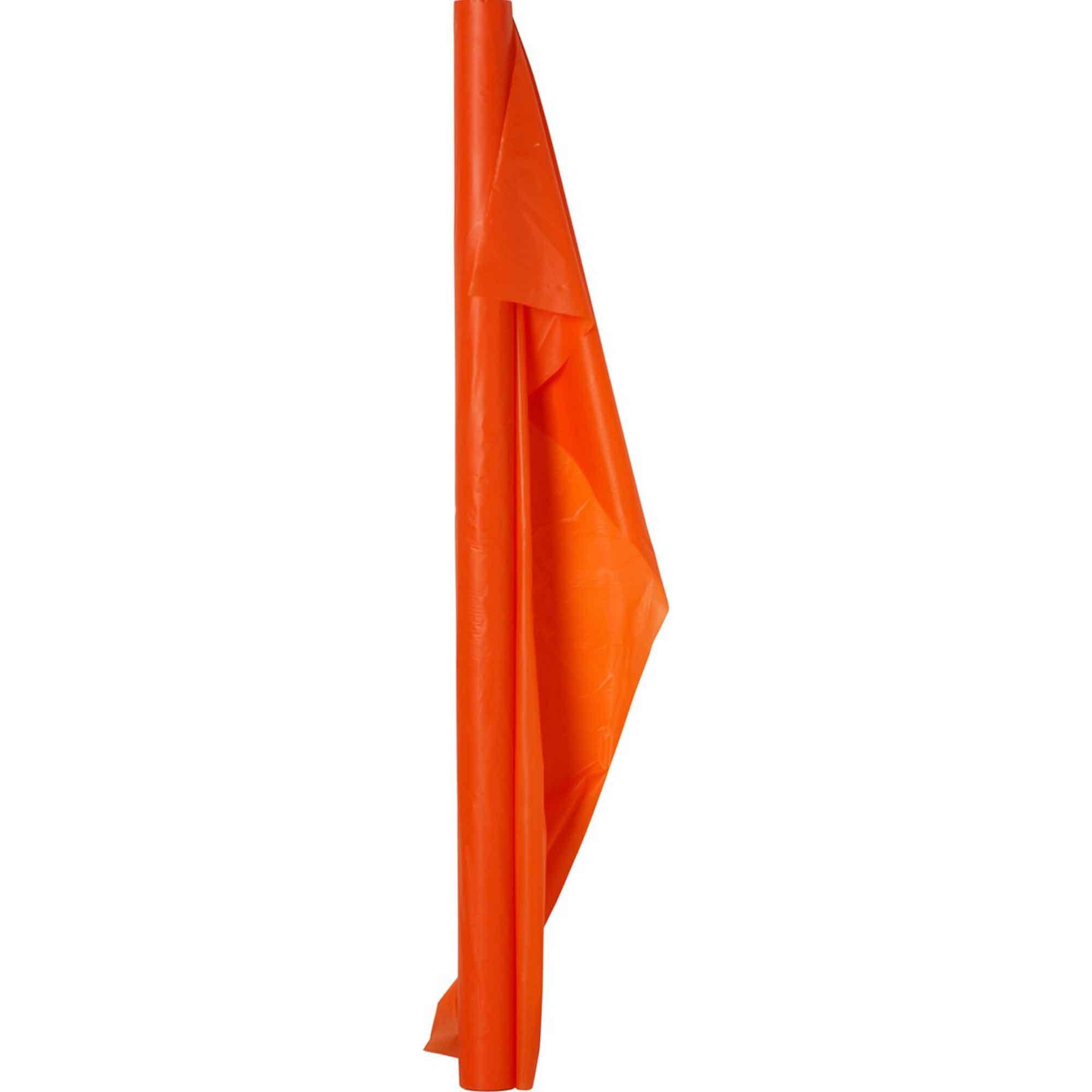 Plastic Table Roll-Orange