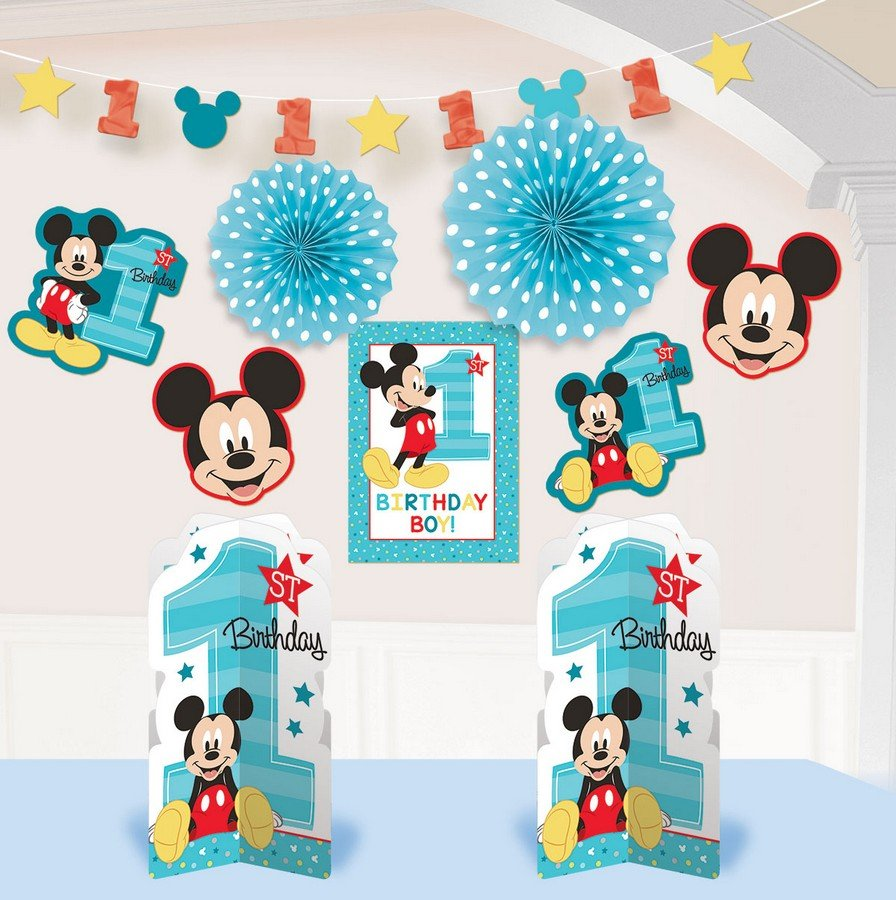 Mickey Fun To Be One Room Decorations Kit