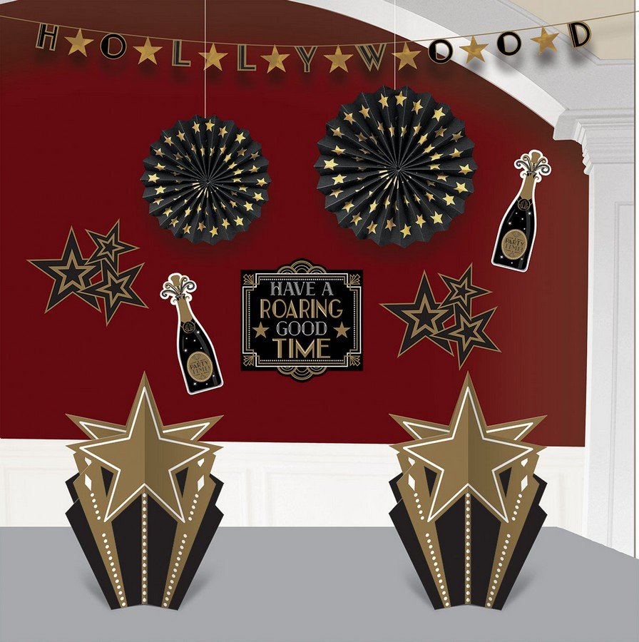 Glitz & Glam Room Decorations Kit