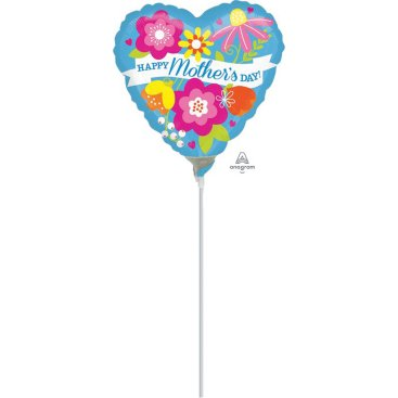 22cm Happy Mothers Day Blue A15