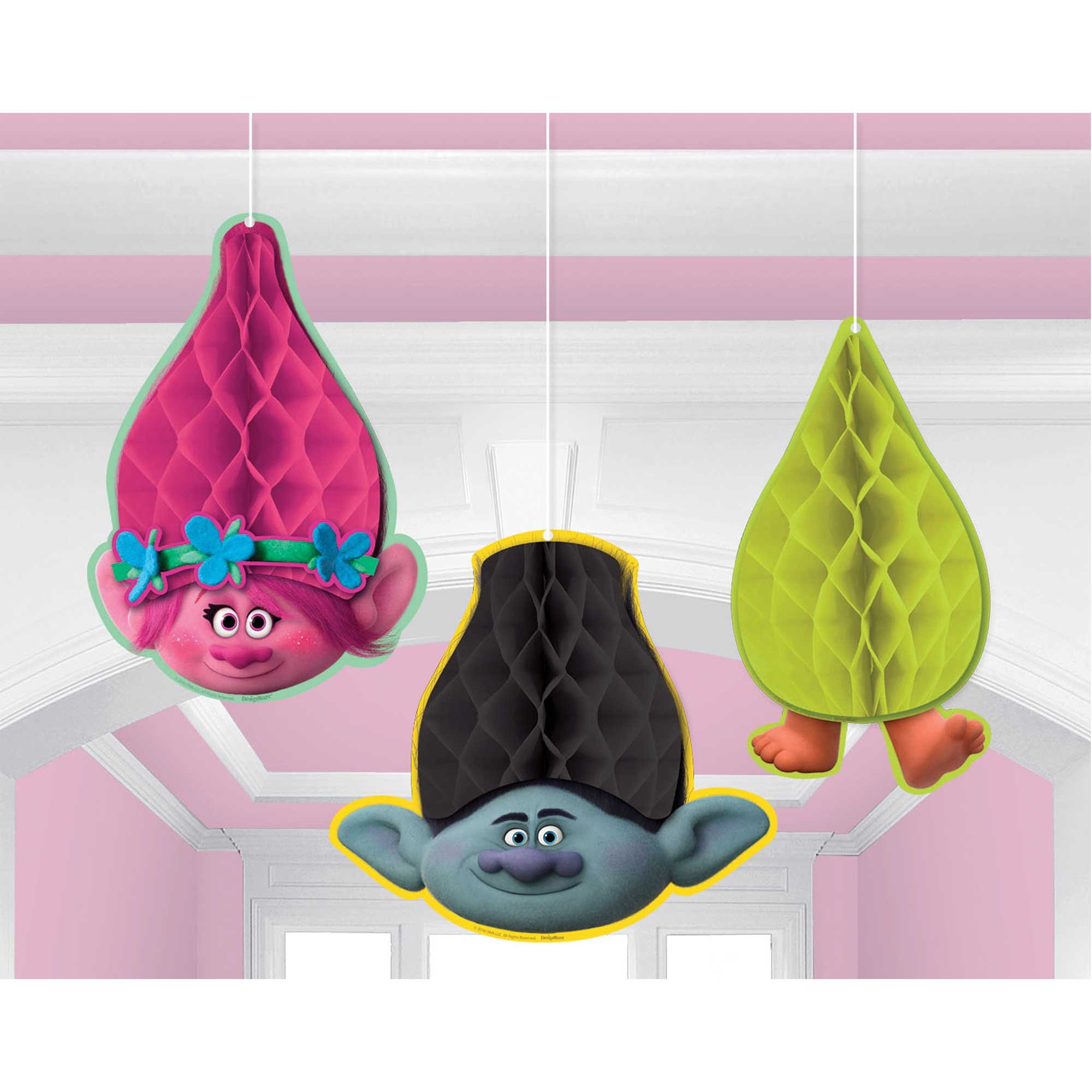 Trolls Honeycomb Hanging Decoration