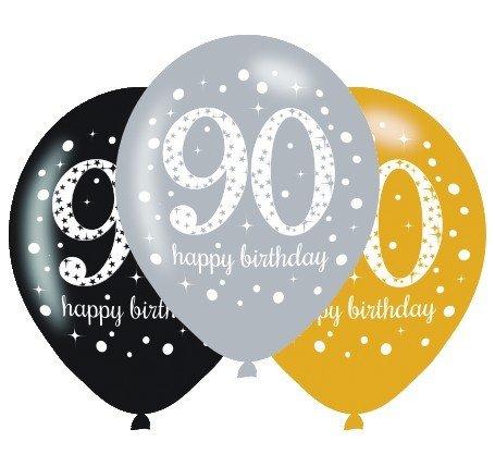 Sparkling Celebration 90 30cm Latex Balloon