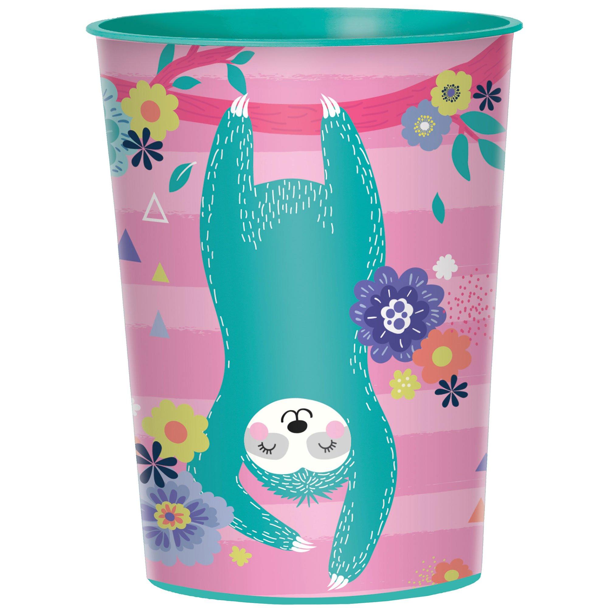 Sloth Favour Cup Plastic 473ml