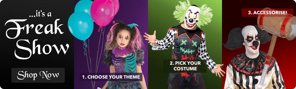 Costumes - Freak Show