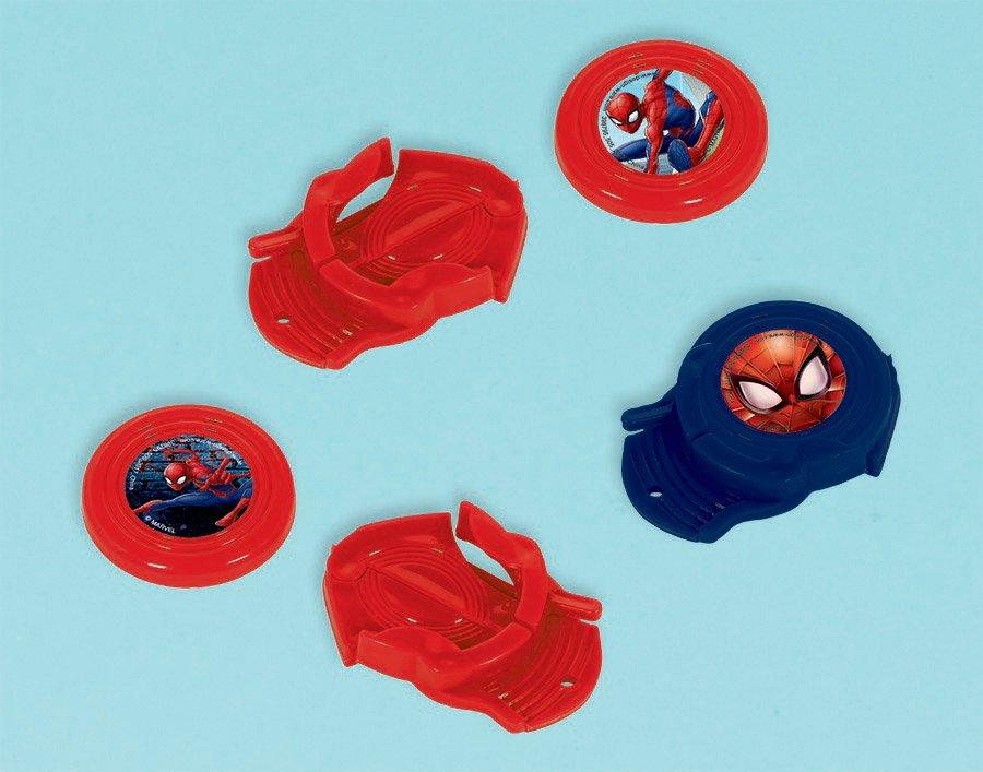 Spider-Man Webbed Wonder Mini Disc Shooter Favor