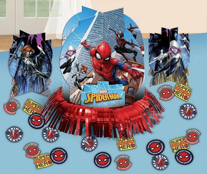 Spider-Man Webbed Wonder Table Decorations Kit