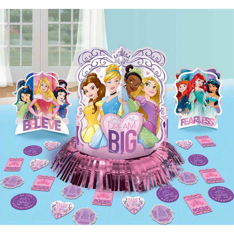 Disney Princess Dream Big Table Decorations Kit