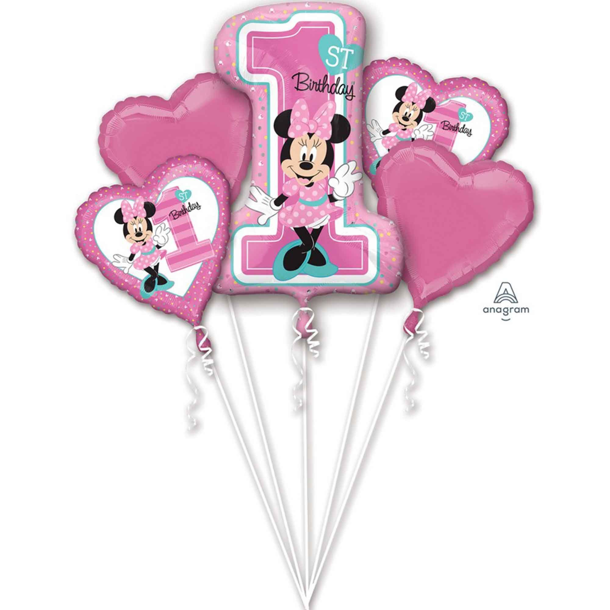 Bouquet Minnie 1st Birthday P75