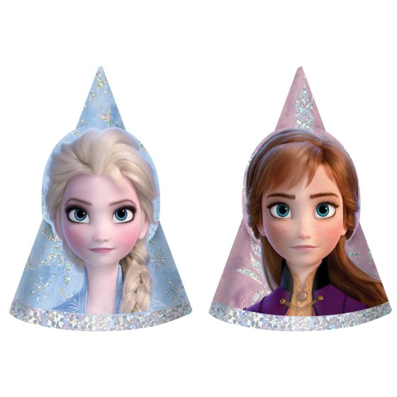 Frozen 2 Party Hats Mini Holographic
