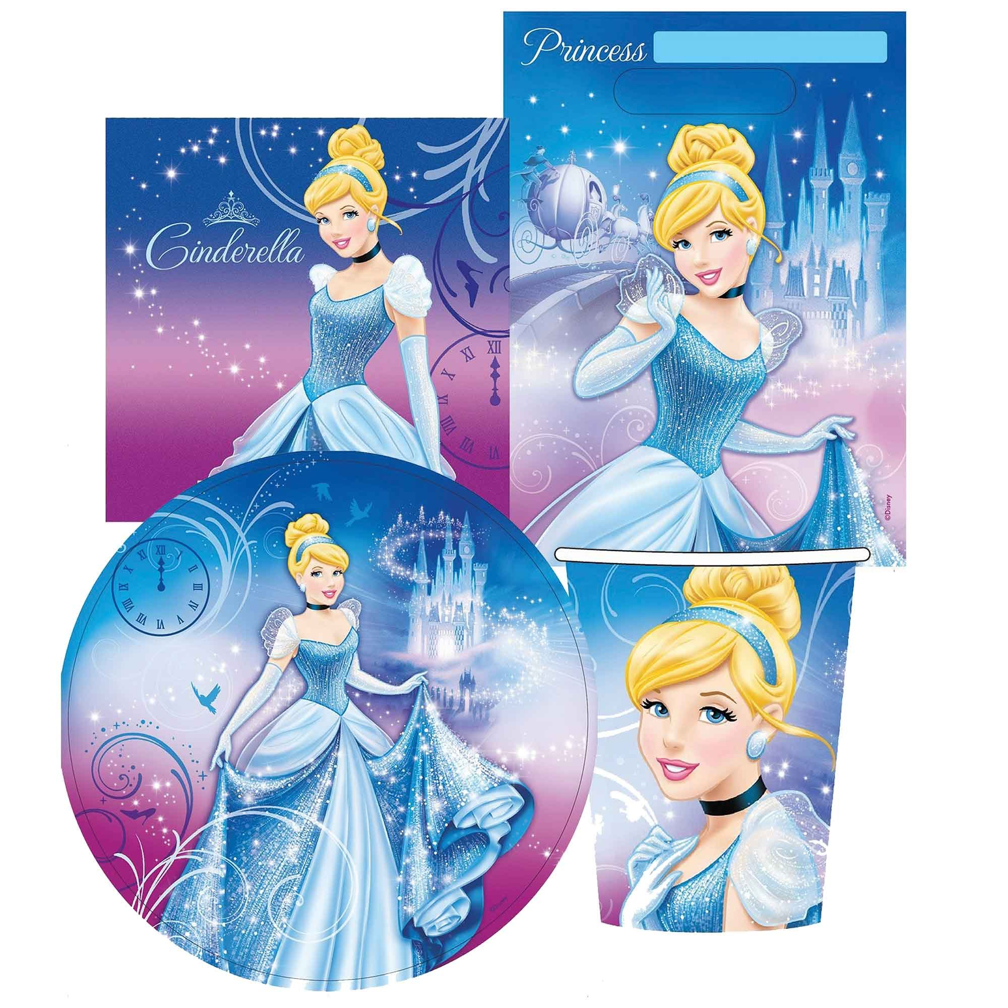 Cinderella Party Pack 40pc