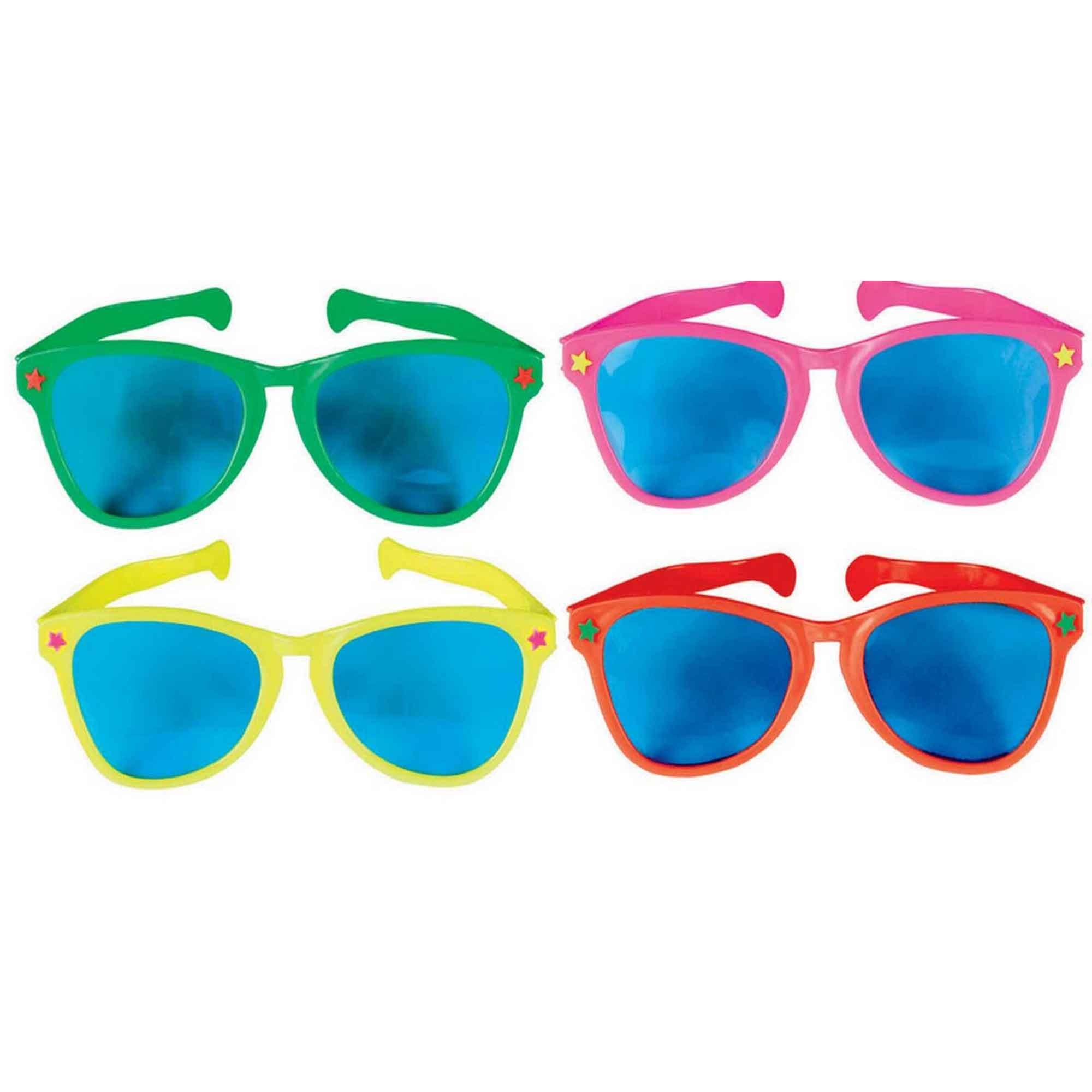 Jumbo Glasses - Rainbow