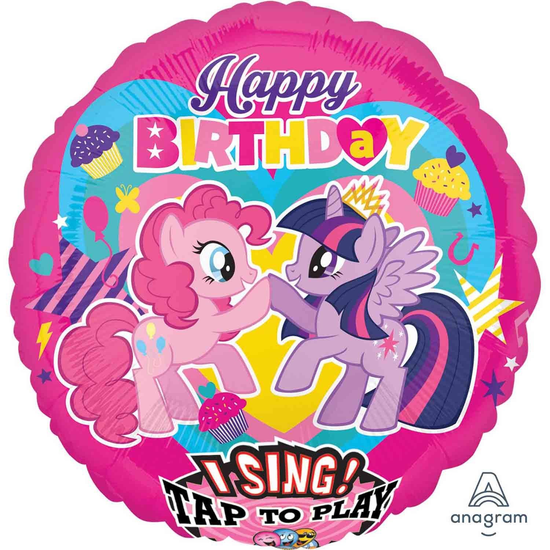 Jumbo Sing-A-Tune XL My Little Pony Happy Birthday P75