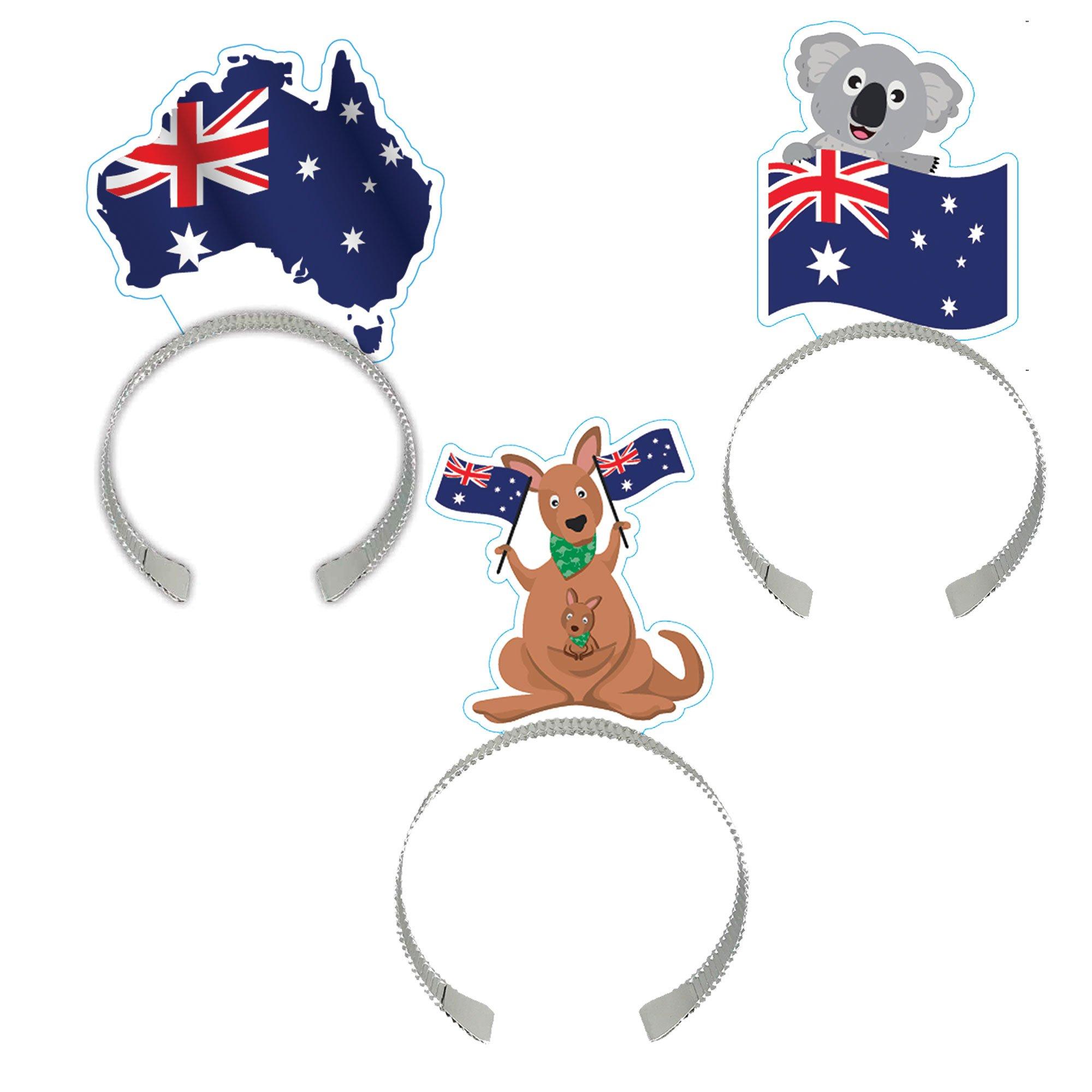 Australia Flag Headbands