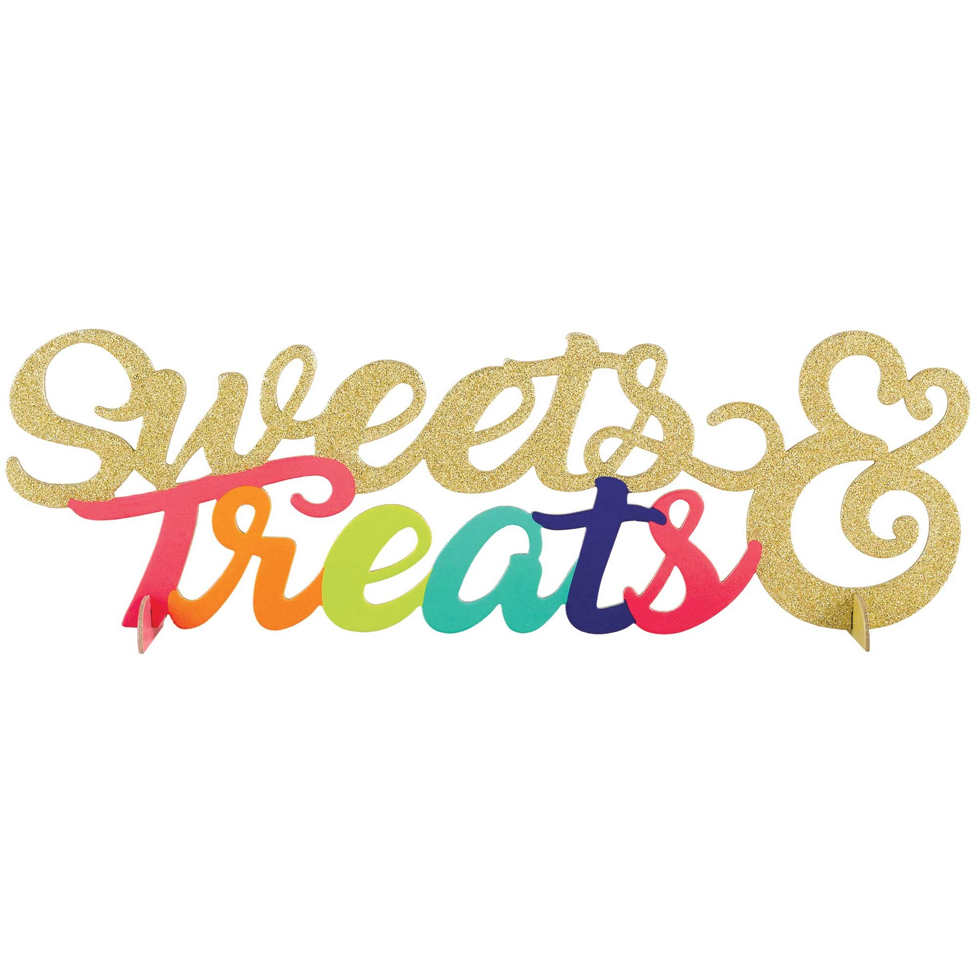 Sweets & Treats Glittered Centrepiece